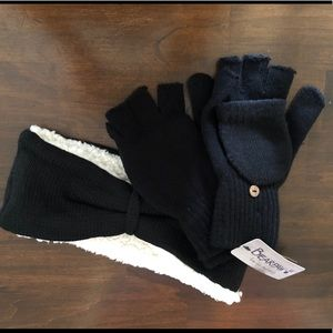 Gloves and Ear Warmer
